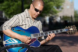 Mark Mosely Playing Jazz